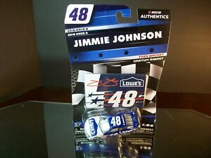 Jimmie Johnson #48 Lowe's Patriotic Wave 9 2018 Chevrolet Camaro Authentics 1:64