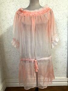 Max Mara Weekend Dress Size L Silk VG