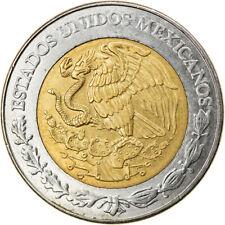 [#810163] Coin, Mexico, 5 Pesos, 2007, Mexico City, EF(40-45), Bi-Metallic