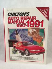 CHILTON'S Auto Repair Manual 1987-1991 Part No. 7903