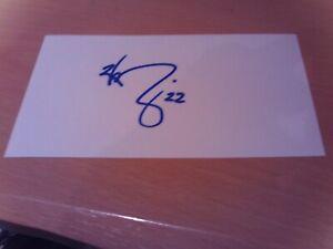 signed card of ex crystal palace tottenham  newcastle footballer wayne routledge