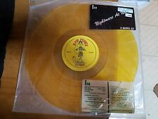 "ISM - Nightmare At Noon OOP 1987 Yellow 12"" Raw Power Records Punk Jism"