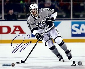 Drew Doughty Signed Autographed 8X10 Photo Kings Skating Winter Classic Steiner