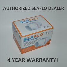 "SEAFLO 12v 4"" In-Line Marine Bilge Air Blower Fan 270 CFM"