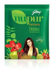 Nupur Henna Goodness of 9 Herbs for Silky & Shiny Hair 1000g / 1kg + free gift