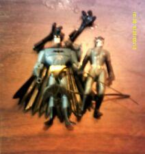 """DC Justice League Unlimited 4""""  Action Figures JLU 2 LOT BATMAN & CATWOMAN"""