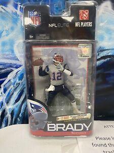 NFL McFarlane Elite Series Patriots Tom Brady Silver Jersey Chase Variant /2750