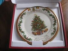 Lenox 2016 Christmas Trees Around the World Collector Plate - Belgium - Nib