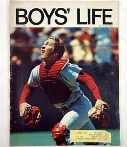 Boys Life 1971 Magazine Johnny Bench Scouts Baseball Cincinnati Ohio Advertising