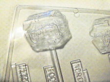 Treasure Chest w/ Loot Chocolate Candy Mold