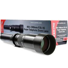 Opteka 650-1300mm Super Zoom Lens for Pentax K-5 K-01 K-70 K-50 K-x K-1 K10D K-3