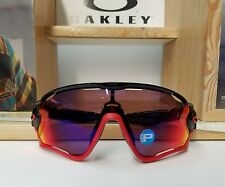 NEW CUSTOM OAKLEY JAWBREAKER BLACK/ RED POLARIZED CYCLING SUNGLASSES BIKE