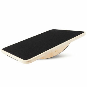 Fully Assembled Wooden Rocker Board for Strengthening & Conditioning Muscles