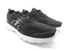 Reebok Men's Speed Rise Athletic Running Shoe Black White Size 13M