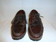 Allen Edmonds Sherwood Brown leather Lace Up Shoe Men's Size 9 1/2 B