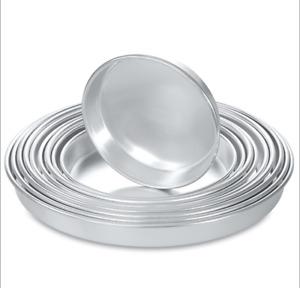 Aluminium Baklava  Firin Tepsisi Backform Backblech Rund 32-34-36-38-40-42cm