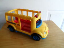 Fisher Price 2002 Bus - missing back door - no accessories
