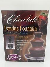 Nostalgia Electrics CFF-965 3-Tier Chocolate Fondue Fountain 24 oz.Capacity