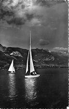 BR17155 Lac d annnecy Star au clair de lune ship bateaux  france