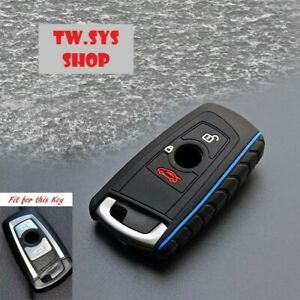 Silicone Key Case Fob Cover for BMW F10 F20 F30 ☆ Keyless ☆ with 3buttons