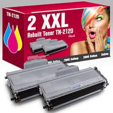 2 Toner für Brother TN-2120 MFC7320 DCP7030 HL2140 MFC7440N HL2150N MFC7840W