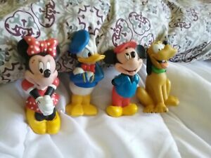 Lot Pouet Disney Mickey Donald Pluto Minnie