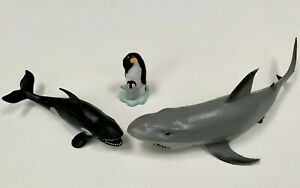 Sea Animals Toy Plastic Figures Shark / Whale - Bath Toys