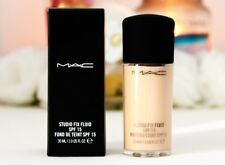 NIB!! MAC Cosmetics Studio Fix Fluid SPF 15 Foundation NC 30