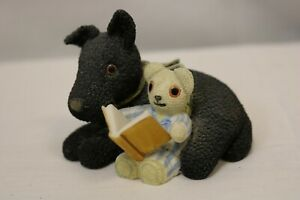 ROYAL DOULTON Old Bear & Friends Story Time Ornament 1999 Jane Hissey OB4618 #F1