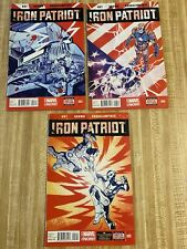 Iron Patriot #3 - #5 by Ales Kot Garry Brown (2014, Marvel)