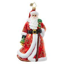 """New Radko All Is Bright Santa 6/"""" 3012689"""