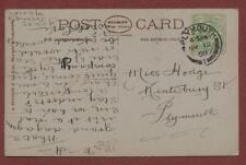 Miss Hodge, Kinterbury Street, Plymouth 1908 - Marion  qp1293