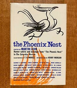 """THE PHOENIX NEST: Humor, Satiric & Nostalgic from """"The Saturday Review""""  1st Ed."""