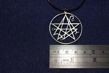 Necronomicon Sigil Seal of Lucifer Amulet KeyChain Necklace Pendant satan