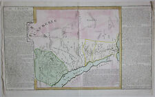 1767 EGIPTE J.B.L. Clouet map Egitto Egypt Égypte مَصر