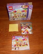 Lego Friends Downtown Bakery 41006 Set Complete DISCONTINUED