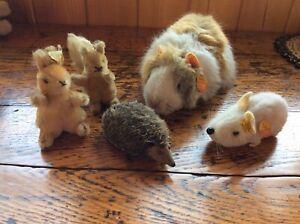 5 Animals- Steiff