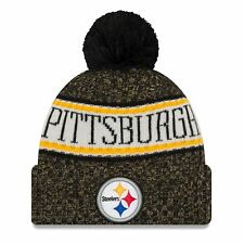 Era NFL Sideline 2018 Bobble Beanie Pittsburgh Steelers 5a7373c4b50d