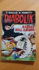 DIABOLIK seconda serie n.22 / 1965  Sangue nell'abisso  ORIGINALE  Sodip