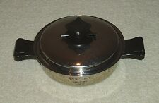 """8 1/2"""" HEALTH CRAFT 5-PLY 304 SURGICAL STAINLESS STEEL SKILLET / FRY PAN - MINT!"""