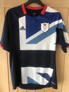 Mens Team GB Olympics London 2012 Football Shirt Adidas Home Official