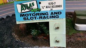 ATLAS  1/24th  & 1/32nd  SLOT CAR    Bearings CAT NO :  1570-7