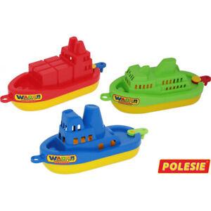 WADER Boot Spielzeugboot Kinder Spielzeug Wasserspielzeug Badewannenboot Strand