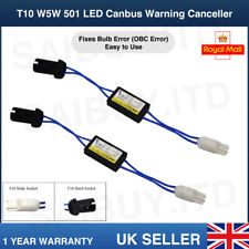 T10 W5W 501 LED Bulb OBC Warning Canceller Decoder Resistor Adapter Canbus Error