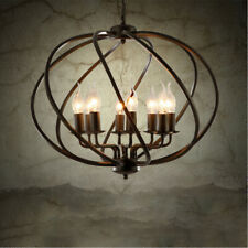 Industrail Entryway Chandelier Lighting 8-light Foyer Lighting Pendant Lights