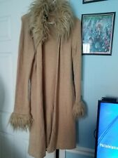 Bebe Sweater Coat L