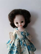 "Vintage Betsy Mccall Doll-8"" Tall-Rare Brunette Hair- Nice For Age"