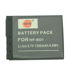 DSTE NP-BD1 NP-FD1 Battery for Sony DSC-TX1 T2 T70 T77 T90 T200 T700 T900 Camera