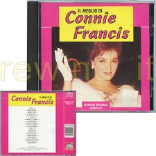 """CONNIE FRANCIS """"IL MEGLIO DI"""" RARE CD 1993 ITALIAN SUNG - OUT OF PRINT"""