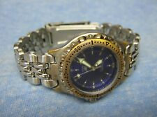 """Women's FOSSIL """"Blue"""" Water Resistant Diver's Watch w/ New Battery"""